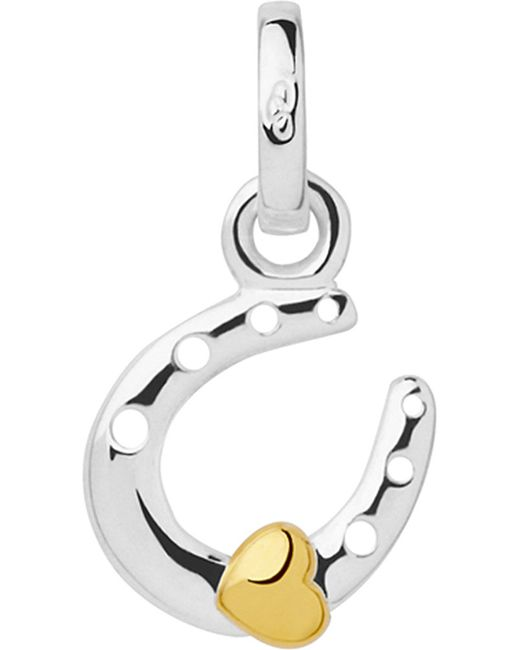 Links of London | Metallic Horseshoe And Heart Sterling-silver Mini Charm | Lyst
