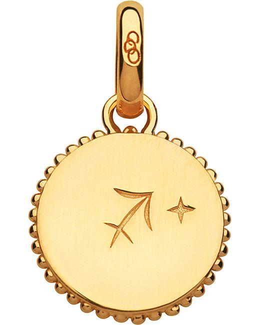 Links of London | Sagittarius 18ct Yellow-gold Zodiac Charm | Lyst
