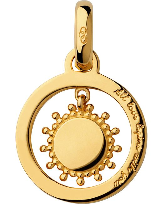 Links of London | Metallic Mother's Say 18ct Yellow Gold Vermeil Sun Charm | Lyst