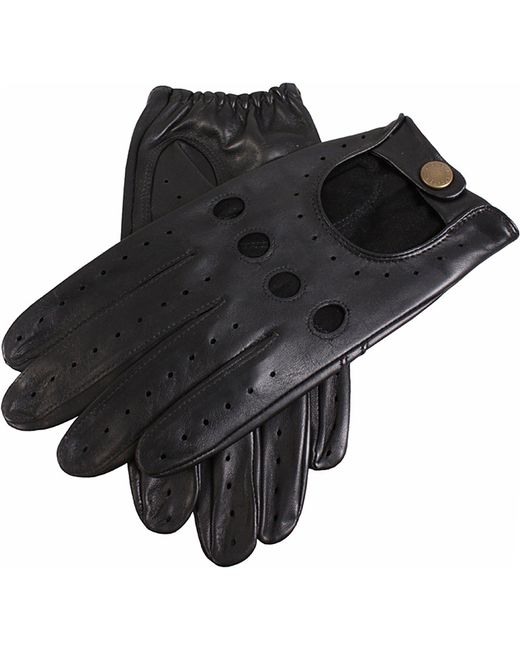 Dents | Black Leather Driving Gloves for Men | Lyst