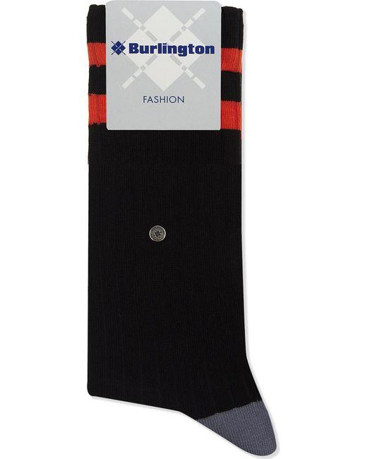 Burlington | Mens Black Embroidered Traditional Tiger Cotton-blend Socks for Men | Lyst