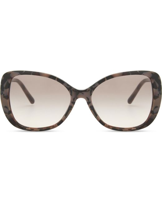 Burberry | Brown Be4238 Butterfly-frame Sunglasses | Lyst