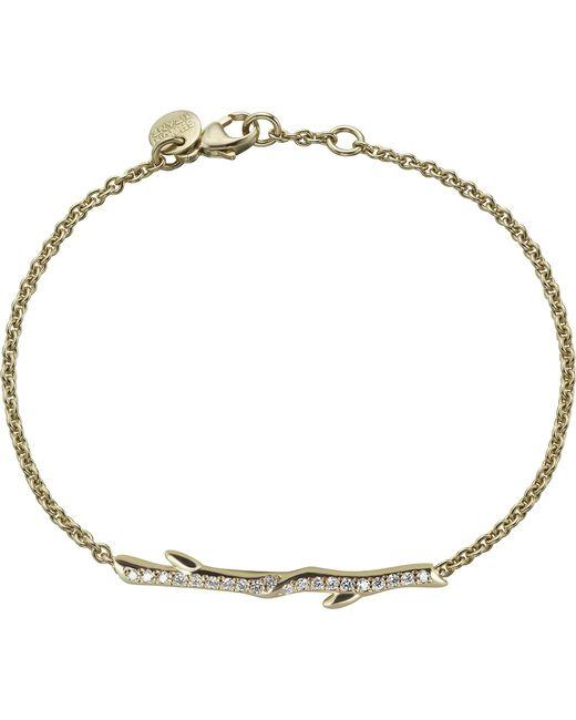Shaun Leane - Metallic Gold Vermeil And Diamond Cherry Branch Bracelet - Lyst