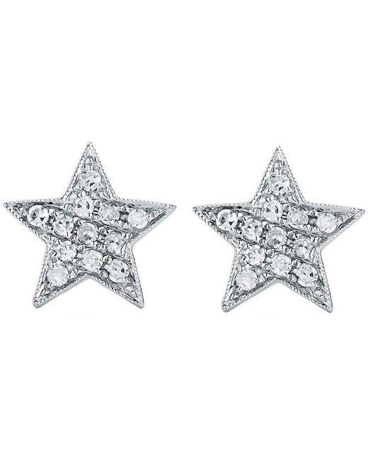 The Alkemistry Metallic Julianna Himiko 14ct White-gold And Diamond Earrings