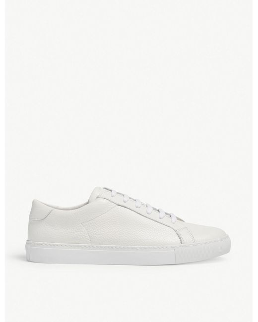 Eleventy - White Leather Trainers for Men - Lyst