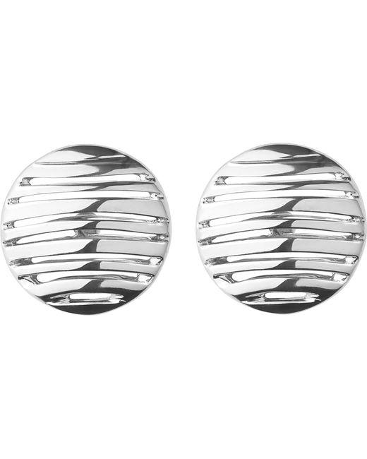 Links of London | Metallic Thames Sterling Silver Stud Earrings | Lyst