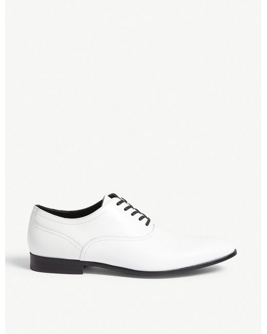 ALDO - White Sernaglia Leather Oxford Shoes for Men - Lyst