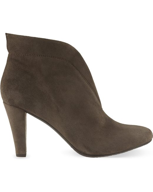 Carvela Kurt Geiger | Brown Rida Suede Ankle Boots | Lyst
