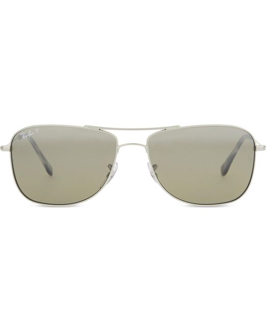 2a3373bf79 Ray-Ban Rb3543 Chromance Aviator Sunglasses in Metallic for Men - Lyst