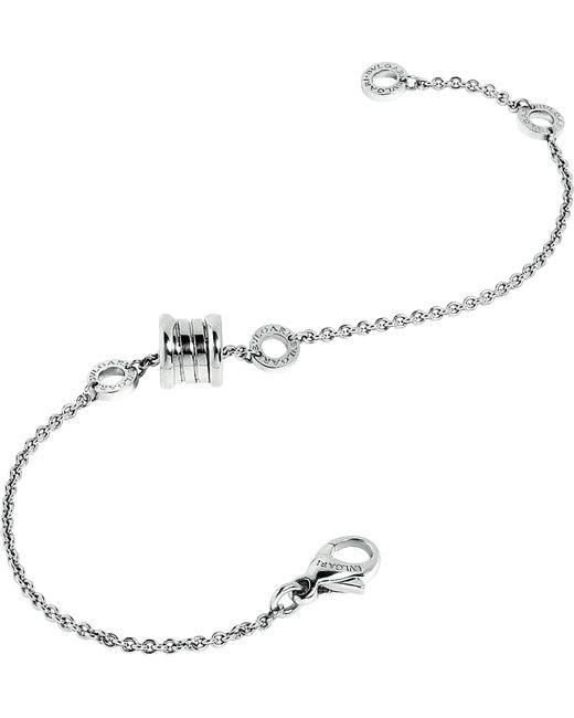 BVLGARI - B.zero1 18kt White-gold Bracelet - Lyst