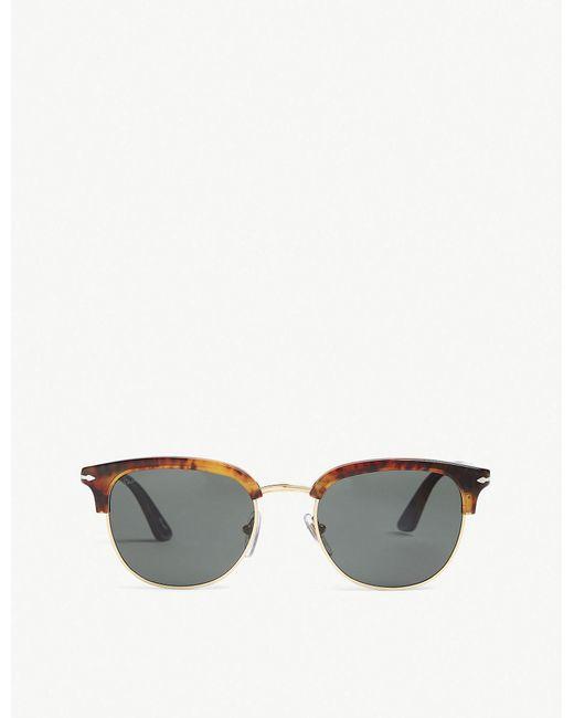 Persol - Ladies Havana Brown Luxury Po3105s Phantos-frame Sunglasses - Lyst