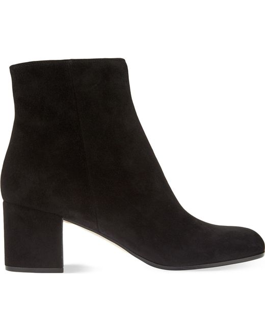 Gianvito Rossi - Multicolor Margaux Suede Ankle Boots - Lyst