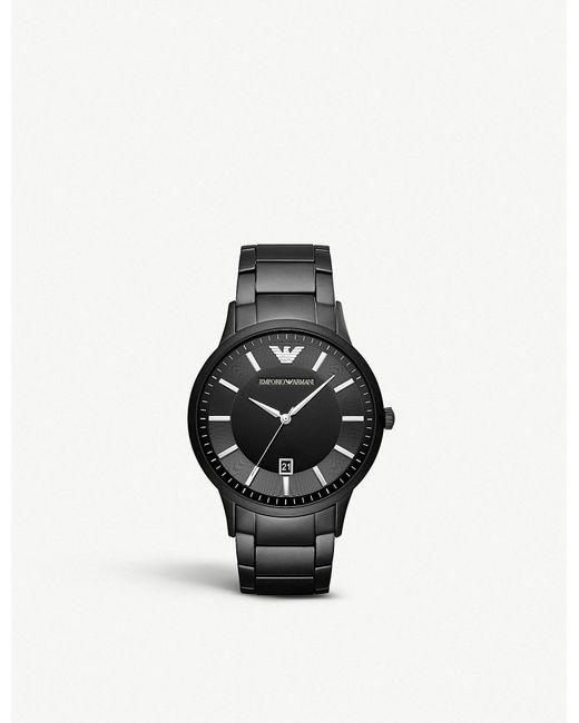 Emporio Armani - Multicolor Ar11079 Renato Stainless Steel Quartz Watch for Men - Lyst