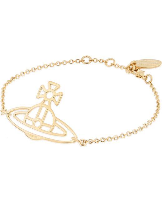 Vivienne Westwood - Metallic Thin Lines Flat Orb Bracelet - Lyst