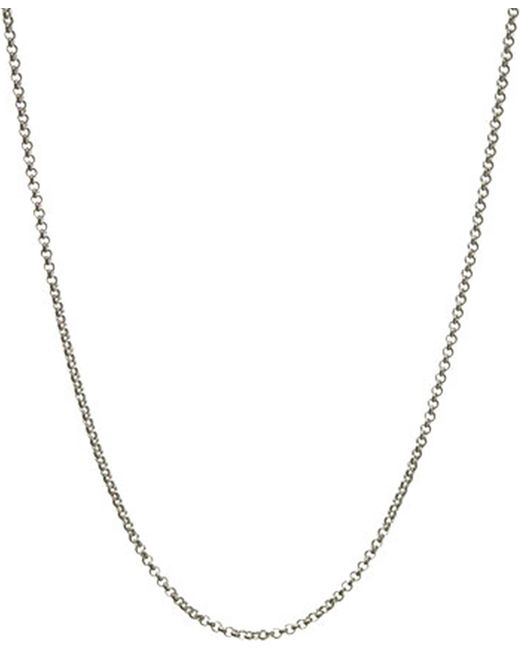 Links of London | Metallic Mini Belcher Sterling Silver Chain 61cm | Lyst