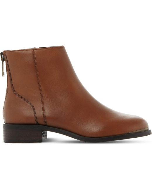 Steve Madden - Brown Rileey Leather Chelsea Boots - Lyst