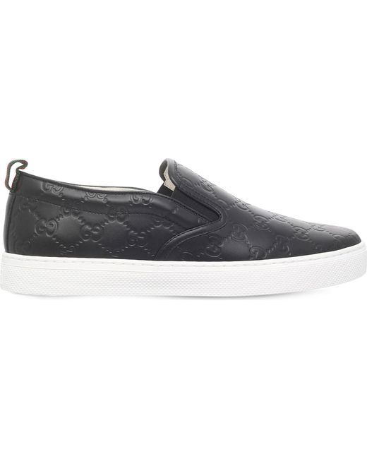 Gucci Dublin Slip-on Sneaker in Black for Men - Save 7%   Lyst