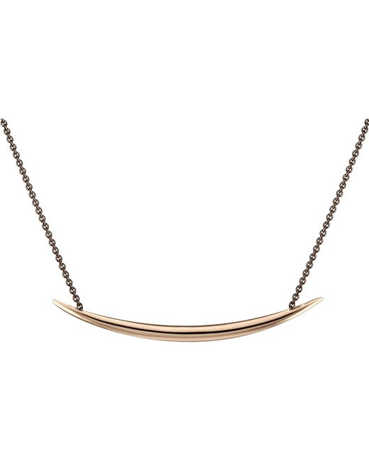 Shaun Leane - Black Silver And Rose Gold Vermeil Quill Necklace - Lyst