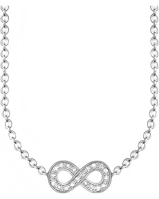 Thomas Sabo - Metallic Glam & Soul Infinity Diamond Necklace - Lyst