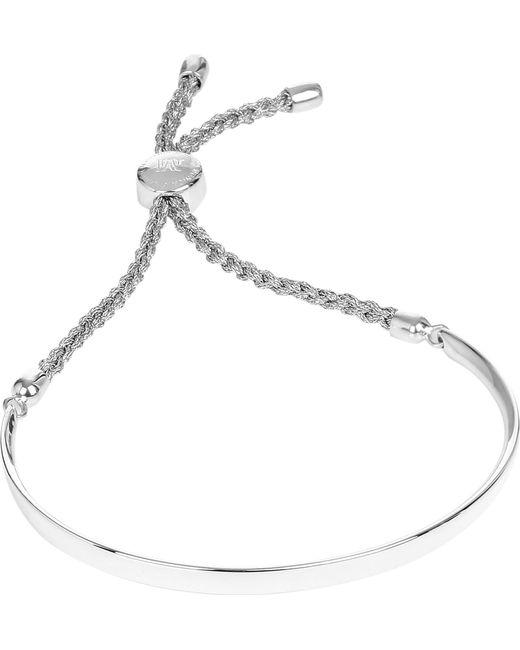 Monica Vinader - Metallic Fiji Sterling Silver Chain Bracelet - Lyst