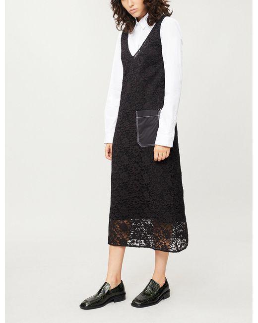 Joseph - Black Margo Palermo Lace Dress - Lyst