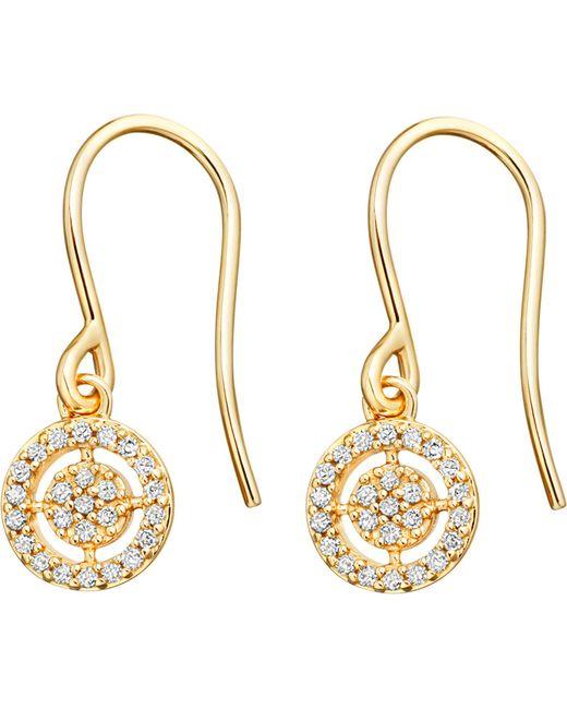 Astley Clarke | Metallic Mini Icon Aura 14ct Yellow-gold Diamond Drop Earrings | Lyst