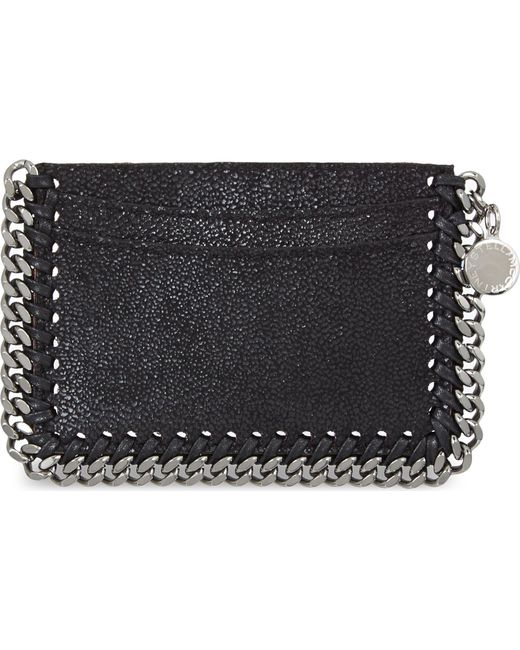 Stella McCartney | Black Falabella Card Holder | Lyst