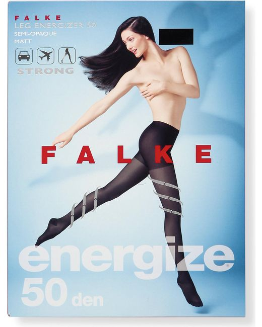 Falke - Black Energize 50 Denier Tights - Lyst