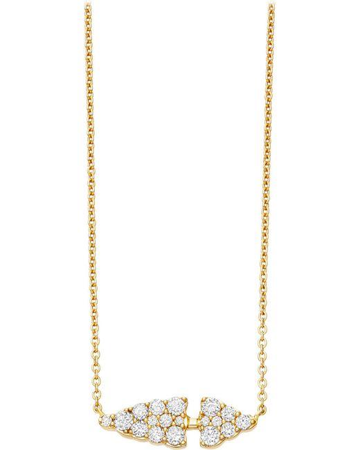 Astley Clarke | Metallic Interstellar 14ct Yellow Gold And Diamond Pendant | Lyst
