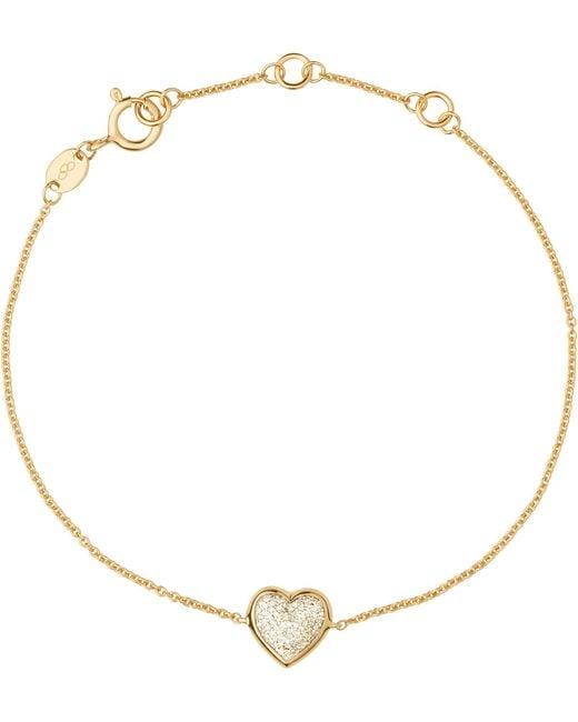 Links of London | Metallic Diamond Essentials 18ct Yellow-gold Pave Bracelet | Lyst