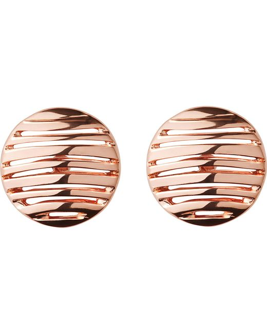 Links of London | Metallic Thames 18ct Rose Gold Vermeil Earrings | Lyst