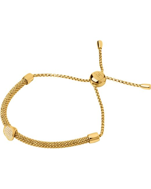 Links of London | Metallic Starlight 18ct Yellow-gold Vermeil And Sapphire Round Bracelet | Lyst