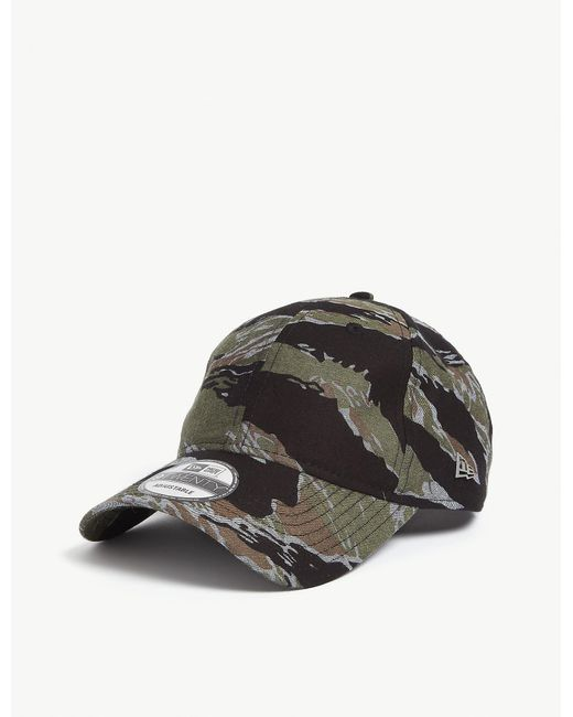 KTZ Multicolor Tiger Camo 920 Baseball Cap for men