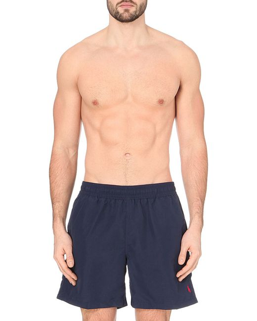Polo Ralph Lauren | Blue Hawaiian Swim Shorts for Men | Lyst