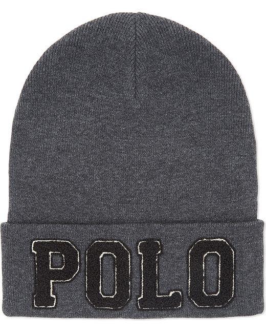 Polo Ralph Lauren | Gray Polo Cotton Hat for Men | Lyst