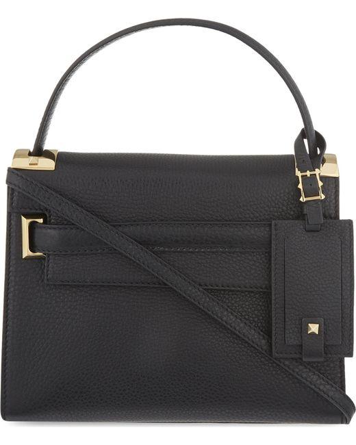 Valentino | Black My Rockstud Small Leather Shoulder Bag | Lyst