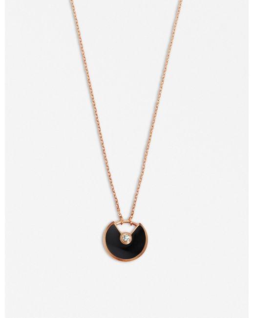 Cartier | Multicolor Amulette De 18ct Pink-gold for Men | Lyst