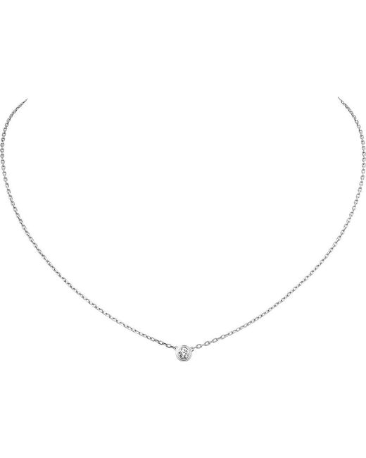 Cartier | Diamants Légers De 18ct White-gold And Diamond Necklace | Lyst
