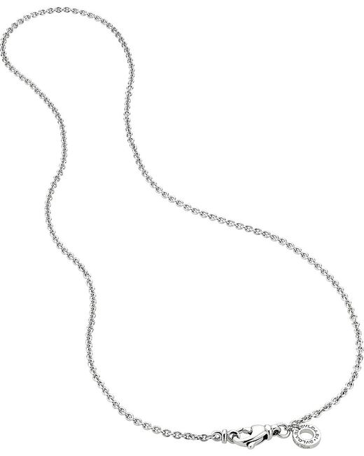 BVLGARI | Metallic Catene 18kt White-gold Charm Necklace | Lyst
