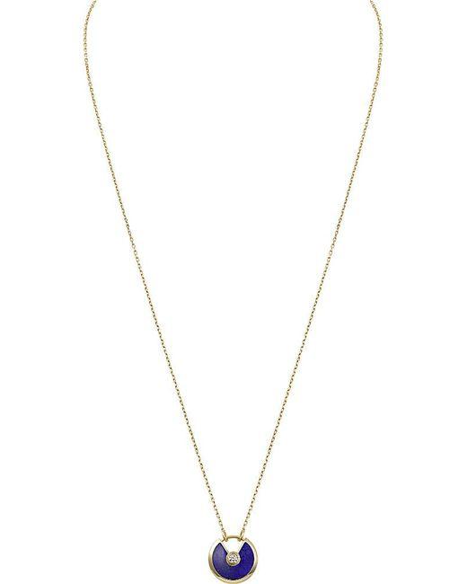 Cartier | Amulette De 18ct Yellow-gold | Lyst
