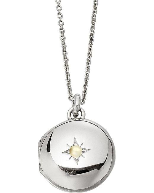 Astley Clarke | Metallic Little Astley Sterling Silver Locket | Lyst