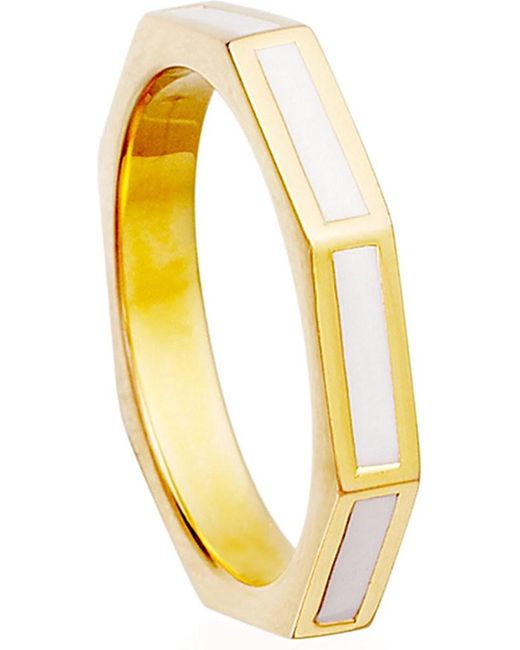 Astley Clarke | Metallic Prismic Sea Shell Fractal Ring | Lyst
