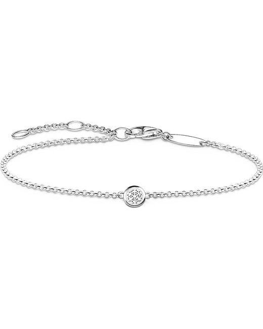 Thomas Sabo   Metallic Glam And Soul Diamond Pavé Bracelet   Lyst