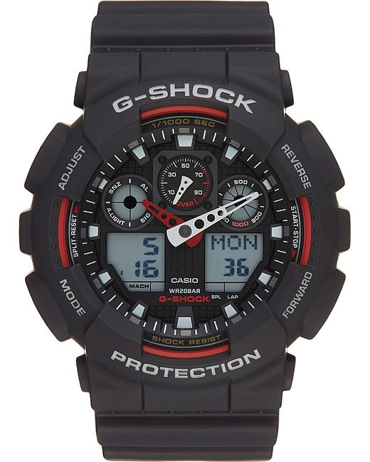 G-Shock | Black Xl Big Face Combi Resin Band Watch for Men | Lyst