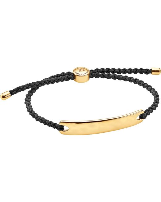 Monica Vinader   Metallic Havana 18ct Rose Gold-plated Friendship Bracelet   Lyst