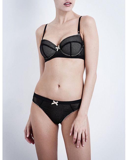 Heidi Klum Intimates | Black Leise Lace Contour Balconette Bra | Lyst