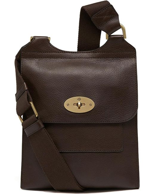 Mulberry | Brown Antony Small Messenger Bag for Men | Lyst