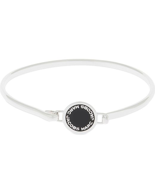 Marc Jacobs | Metallic Enamel Disc Hinged Bracelet | Lyst