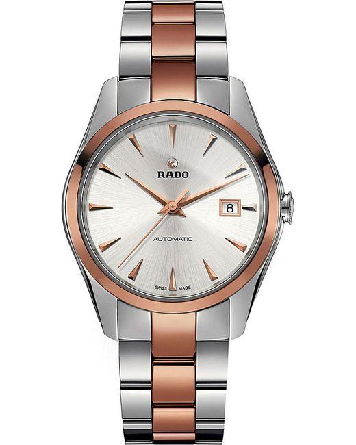 Rado   Metallic R32980112 Hyperchrome Stainless Steel And Ceramic Watch   Lyst
