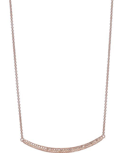 Monica Vinader | Metallic Rose Goldplated Diamond Bracelet | Lyst